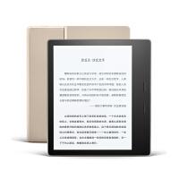 全新亚马逊Kindle Oasis电子书阅读器 7英寸屏 防水溅 32G金色有款礼盒装