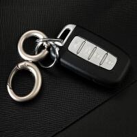 男士腰挂钥匙扣 创意汽车钥匙链钥匙串挂件双圈金属钥匙圈