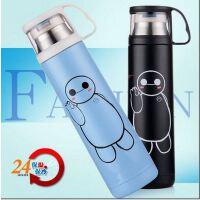 创意卡通大白保温杯不锈钢真空保温瓶水杯可爱礼品保温杯