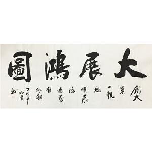 秦松青《大展宏图》著名书法家