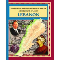 英文原版 A Historical Atlas of Lebanon