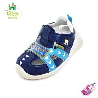 迪士尼Disney童鞋2018新款婴幼童宝宝鞋萌趣米奇米妮婴童凉鞋包头时尚学步鞋(0-4岁可选) HS0310