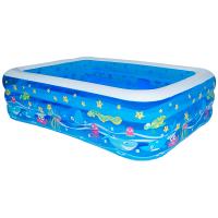 儿童充气游泳池婴儿家用海洋球池加厚大号戏水池