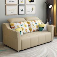 布艺可折叠沙发床1.8 客厅小户型双人两用简约现代多功能推拉1.5 o1u