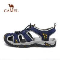 camel 骆驼户外休闲凉鞋男 春夏循环透气舒适柔韧沙滩鞋