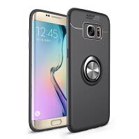 三星S9手机壳S9+保护套s9plus带指环支架扣S8全包边防摔s8+个性创意男女款note8软硅胶