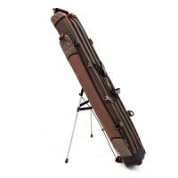 1.2米单层双层鱼竿包 硬壳竿包渔具包台钓鱼竿包