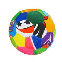 LALABABY/拉拉布书 启智布球 内置摇铃铃铛 0-3岁婴儿手抓球 布玩 五彩感官球