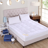 ???席梦思床垫保护垫可水洗防滑床护罩1.5m/1.8m床褥子薄酒店可定做