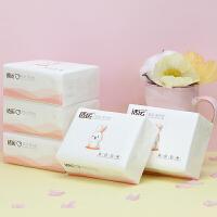 5包纸巾小包抽纸家用整箱卫生纸实惠装餐巾纸批木浆面巾纸