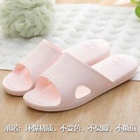 日式情侣拖鞋女夏男士室内家居家用防滑浴室洗澡软底凉拖鞋女