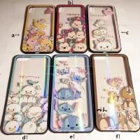 20190601015048580花栗鼠史迪奇维尼小猪iPhoneXs max手机壳6s/7/8plus玻璃保护套R