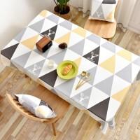 方桌布防水耐高温防烫防油免洗防辣椒油正方形加厚四方桌
