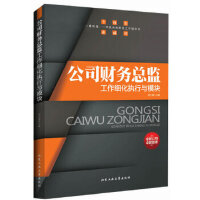 公司财务总监工作细化执行与模块 周文敏 北京工业大学出版社 9787563938858