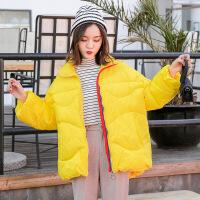 冬装2018新款韩版白鸭绒轻薄羽绒服女短款面服宽松时尚羽绒外套
