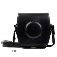 富士拍立得SQ10相机包 皮质前盖式相机包黑色 棕色SQ10相机包