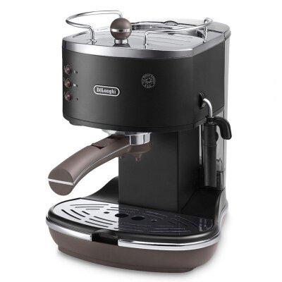 德国进口 Delonghi/德龙 ECOV310 BK蒸汽泵压式家用商用咖啡机 泵压式 一秒出咖啡 方便快捷 操作方便