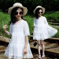 童装儿童女亲子裙子夏装连衣裙女童公主裙新款中大童女孩裙子