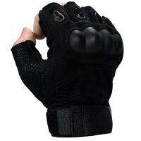 户外格斗军迷半指黑鹰男2018升级版特种兵战术手套