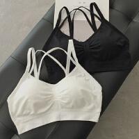 春季新款少女裹胸抹胸内衣性感小吊带背心打底防走光带胸垫文胸潮