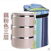 饭盒保暖餐桶双层带餐盒密封学生饭盒保温饭盒多层便当盒不锈钢成人保温桶