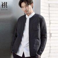 【1件3折价:194.7】CHIN男装长袖棉服双面穿棉衣薄棉夹棉外套克复古chic国风新品