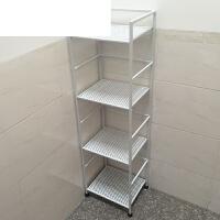 浴室置物架层架毛巾架铁艺四层置物架收纳架欧式卫生间置物架落地