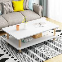 【满200减30】柏易 环保加厚简易长方形钢木茶几 沙发边桌小圆桌小茶几角几边几