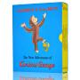 好奇猴乔治- 英文原版  Curious George Classic Adventures 第二辑(共11册)