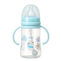 正品 RK-3129 婴儿宽口易握自动PP奶瓶 240ml