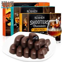 如胜 神枪手白兰地酒味酒心巧克力150g 夹心巧克力节日礼盒进口零食