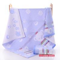 儿童三层纱布毛巾被纯棉盖毯幼儿园夏季午睡小被子 110*110