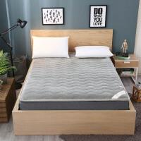 加厚法莱绒床垫床褥榻榻米垫被学生宿舍单人双人1.5m 1.8米床褥子