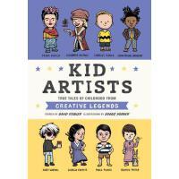 【现货】英文原版 艺术家小时候的故事 Kid Artists ( Kid Legends ) 名人传记 9-12岁适读