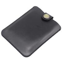 艾利和AK300保护套MP3收纳包 内胆袋 皮套 便携全包 防刮 超纤皮 黑色 复古扣款