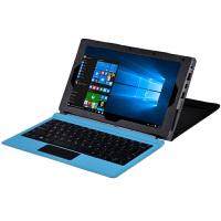驰为SurBook Mini保护套10.8英寸平板电脑皮套键盘全包配件 荔枝纹系列-黑色 (可放键盘)
