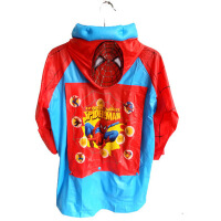 蜘蛛侠儿童雨衣雨鞋套装男童雨具男童雨伞雨鞋雨靴套装小男孩雨披