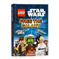 乐高星球大战解放银河系 DK分级阅读 LEGO Star Wars Free the Galaxy (DK Reads