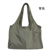 多功能时尚妈咪包 母婴包袋大容量潮妈妈包轻便女包尼龙料 军色 现货