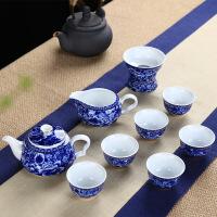 茶具茶杯单个中风礼品复古天香陶瓷描金线茶具套装