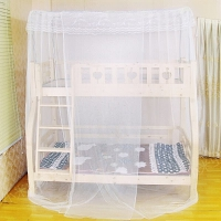 【含支架】双层床儿童床蚊帐上下铺高低床一体1.2/1.5