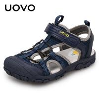 【1件3折价:99元】UOVO儿童凉鞋2021男童凉鞋夏季包头宝宝沙滩鞋中小童童鞋潮新密西西比