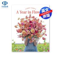 英文原版 花束护理 插花花艺园艺设计画册 鲜花农场:每个花季所需设置 Floret Farm's A Year in F
