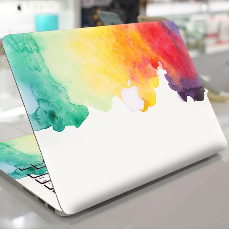 苹果笔记本贴膜Macbook Pro 13 15寸12寸新款touchbar水彩电脑保护膜Air 1 Air 11寸