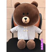 布朗熊公仔可妮兔公仔娃娃玩偶大号抱抱熊毛绒玩具生日礼物送女友