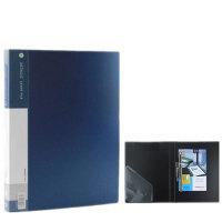 金得利文件夹金属双色A4长强力夹板夹资料夹学生商务夹文具