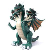 恐龙玩具七头翼龙 大号电动恐龙仿真模型 会行走发声发光侏罗纪男孩礼物儿童玩具套装