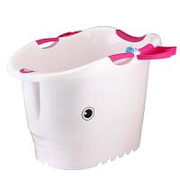 大号婴儿浴盆洗澡盆加厚儿童洗澡桶宝宝沐浴桶可坐桶塑料泡澡桶