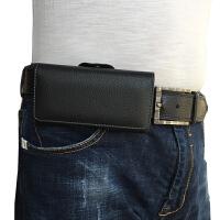 手机腰包手机挂腰套穿皮带皮套男士挂腰壳 小号(内径长.5x宽6.5x厚1.2