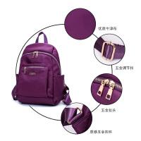 双肩包女包帆布包女士包尼龙牛津布学院风学生书包新款旅行背包包
